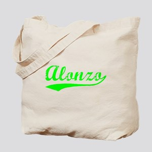 Vintage Alonzo (Green) Tote Bag
