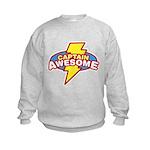 Captain Awesome Kids Sweatshirt