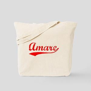 Vintage Amare (Red) Tote Bag