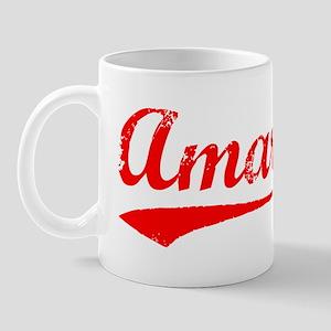 Vintage Amari (Red) Mug