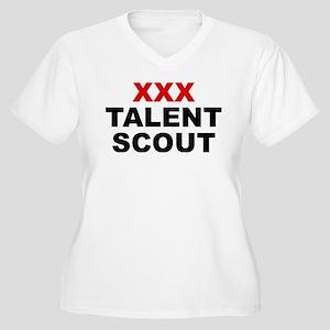 XXX Talent Scout Women's Plus Size V-Neck T-Shirt