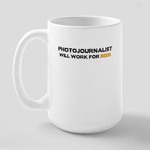 Photojournalist Large Mug