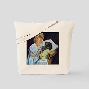 Doxie Nurse Tote Bag