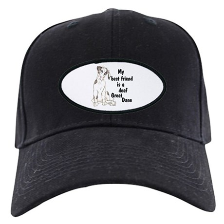 NMQN Deaf BFF Black Cap