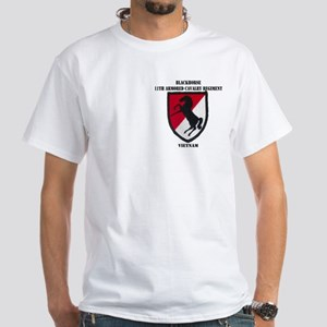 11TH ARMORED CAVALRY REGIMENT White T-Shirt