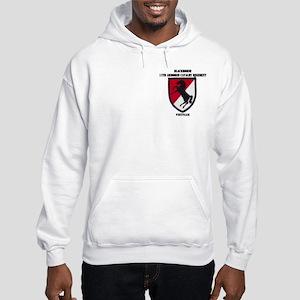 11TH ARMORED CAVALRY REGIMENT Hooded Sweatshirt