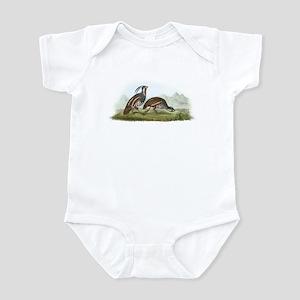 Mountain Quail (Front only) Infant Bodysuit