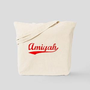 Vintage Amiyah (Red) Tote Bag