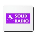 Solid Radio Logo Mousepad