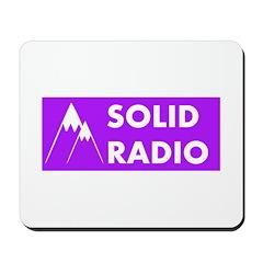 Solid Radio Logo Mousepad