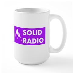 Solid Radio Logo Mugs