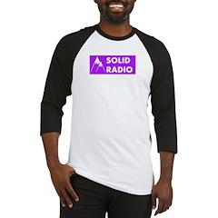 Solid Radio Logo Baseball Jersey