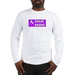 Solid Radio Logo Long Sleeve T-Shirt