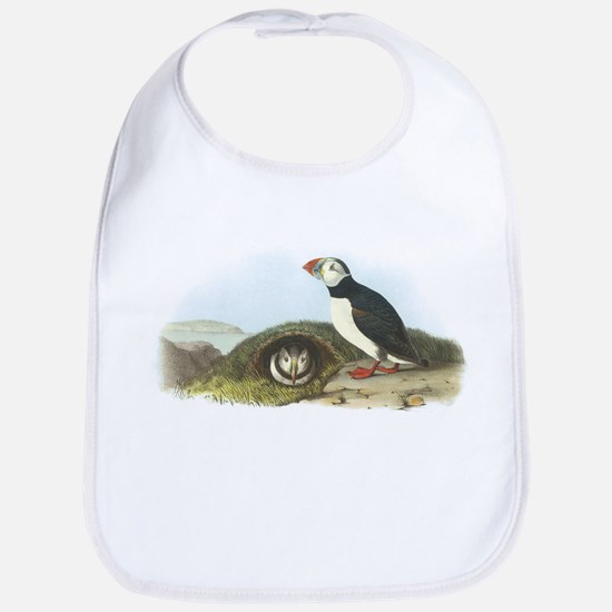 Atlantic Puffin (Front only) Bib