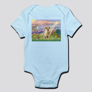 Cloud Angel & Yellow Lab Infant Bodysuit