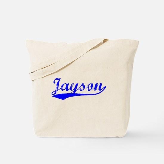 Vintage Jayson (Blue) Tote Bag