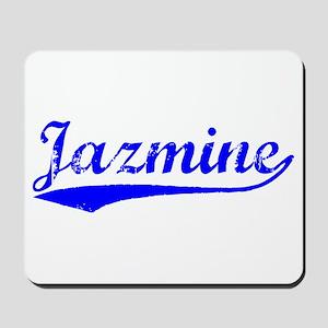 Vintage Jazmine (Blue) Mousepad