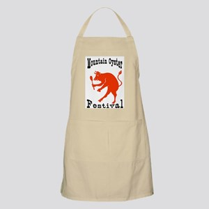 Mountain Oyster Festival Too BBQ Apron