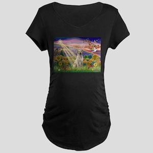 Autumn Angel / Lab (y) Maternity Dark T-Shirt