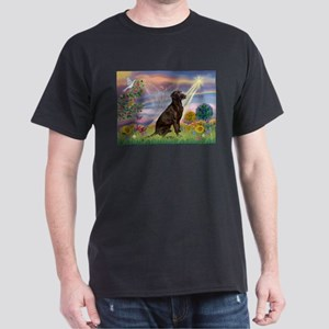 Cloud Angel / Lab (c) Dark T-Shirt