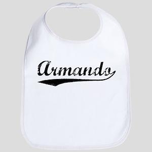 Vintage Armando (Black) Bib