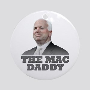 The Mac Daddy Ornament (Round)