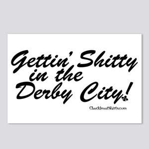 Gettin' Shitty in the Derby City Postcards (Packag