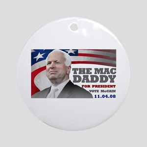 Mac Daddy for President Ornament (Round)