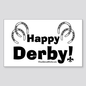 Happy Derby Rectangle Sticker