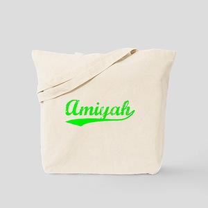 Vintage Amiyah (Green) Tote Bag