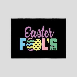 Easter Fools 5'x7'Area Rug