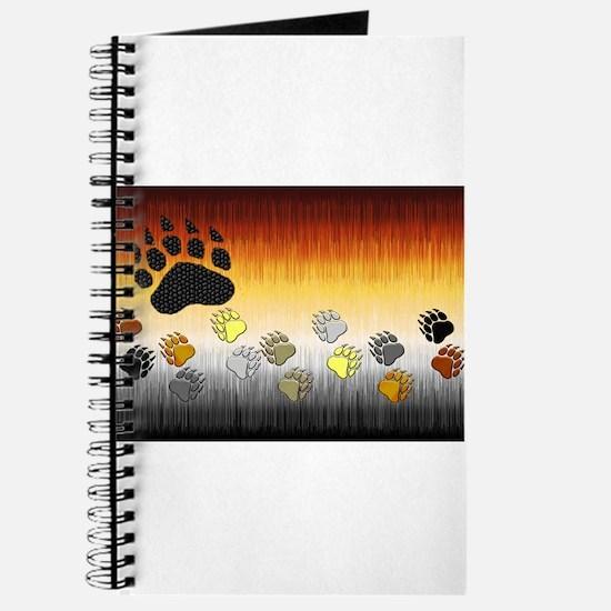 FURRY BEAR PRIDE FLAG/PAWS2 Journal