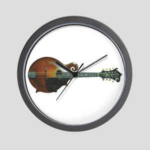 The Gibson F-4 Mandolin Wall Clock