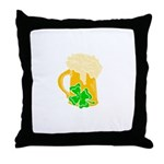 Irish Beer By The Pitcher Throw Pillow