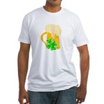 Irish Beer By The Pitcher Fitted T-Shirt