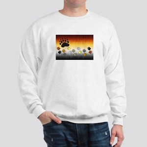 FURRY BEAR PRIDE FLAG/PAWS2 Sweatshirt