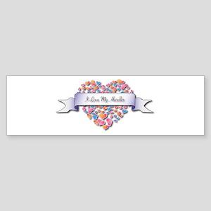 Love My Hurdler Bumper Sticker