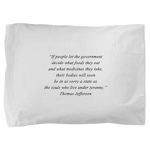 Jefferson - What Foods Pillow Sham