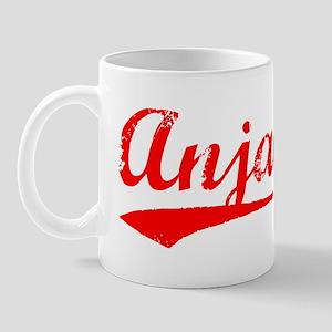 Vintage Anjali (Red) Mug