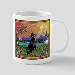 Doberman Fantasyland Mug