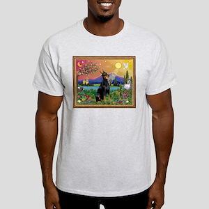 Doberman Fantasyland Light T-Shirt