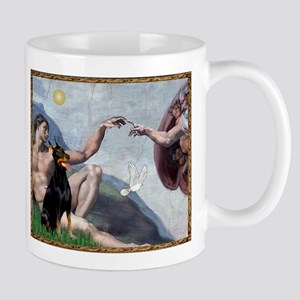 Creation - with Doberman Mug