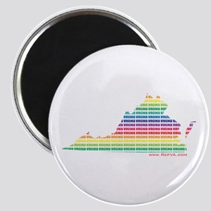 Lines of Color Magnet