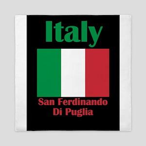 San Ferdinando Di Puglia Italy Queen Duvet