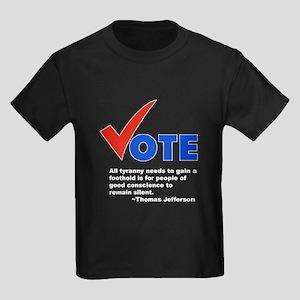 Vote! Kids Dark T-Shirt