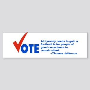Vote! Bumper Sticker