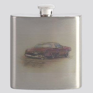 DeVille In The Rough Flask