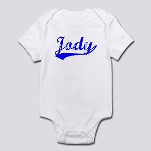 Vintage Jody (Blue) Infant Bodysuit
