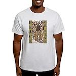 Peace or Else Ash Grey T-Shirt
