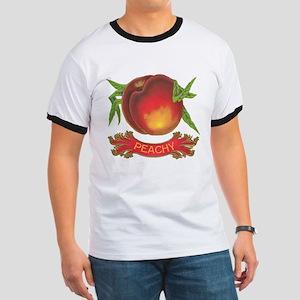 Peachy Ringer T